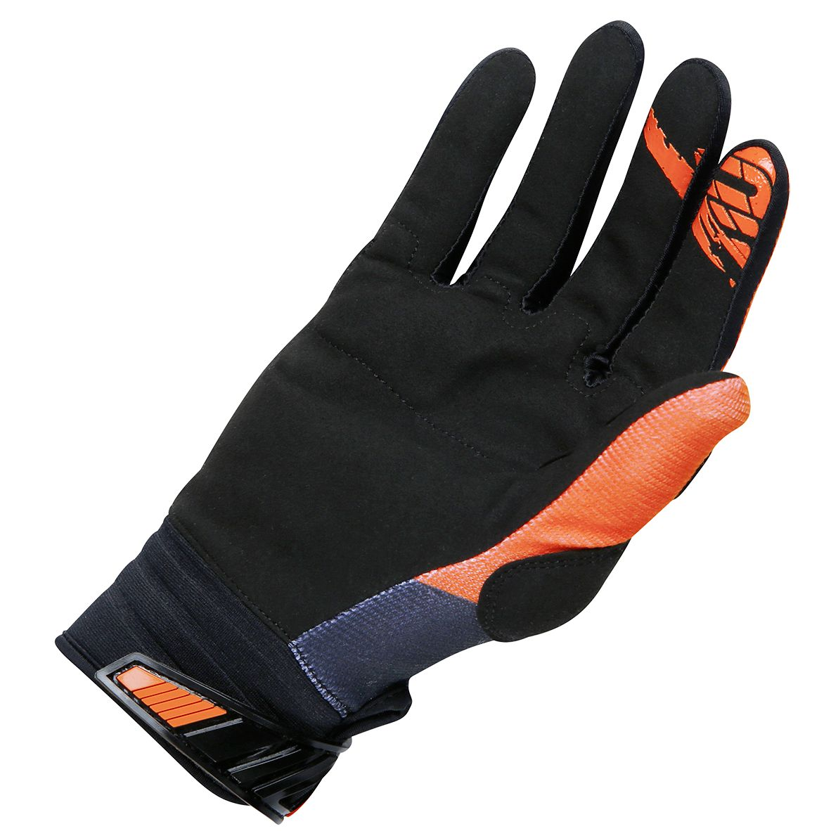 Gants cross Shot destockage DEVO FAST NEON ORANGE ENFANT