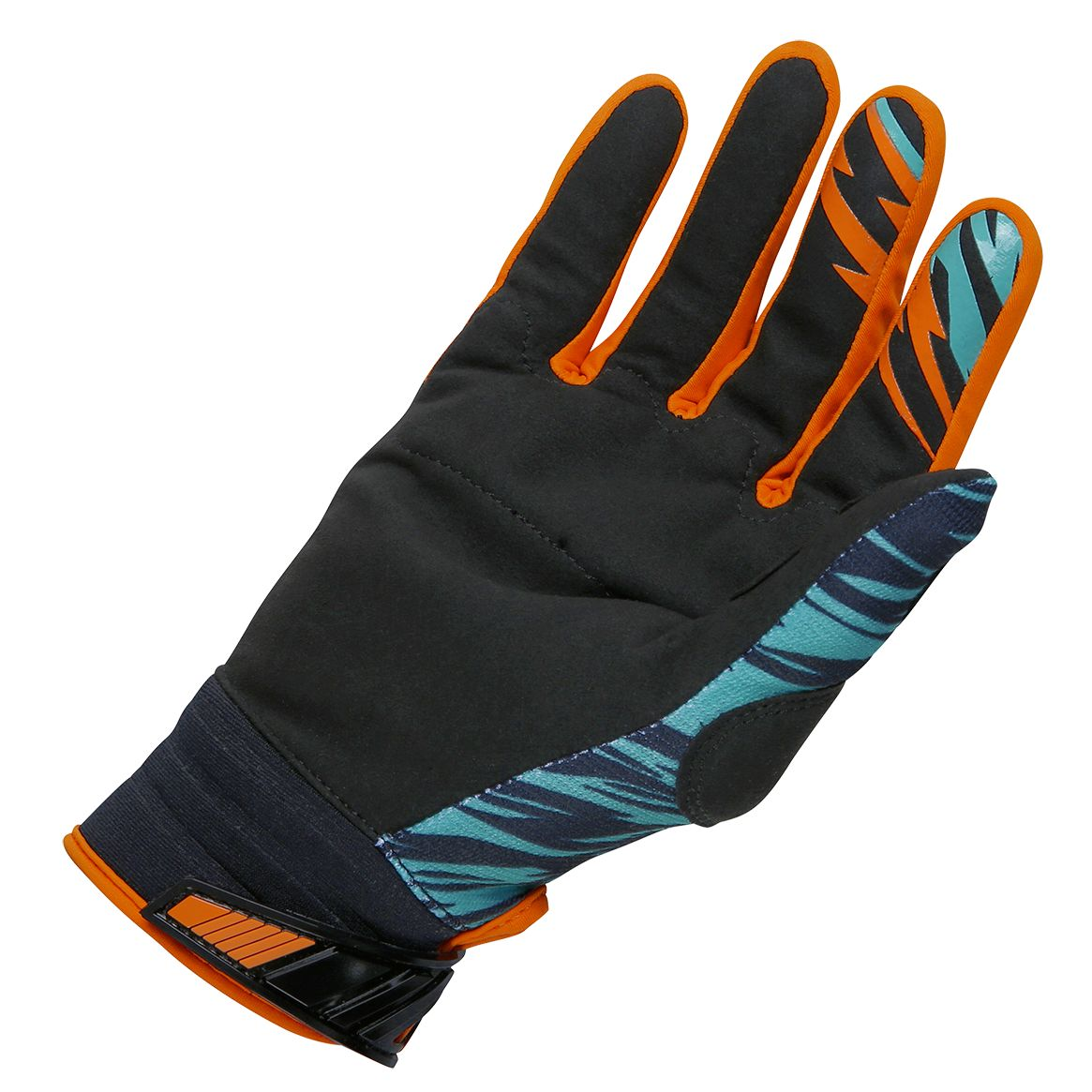 Gants cross Shot destockage DEVO TROOPER MINT ORANGE ENFANT