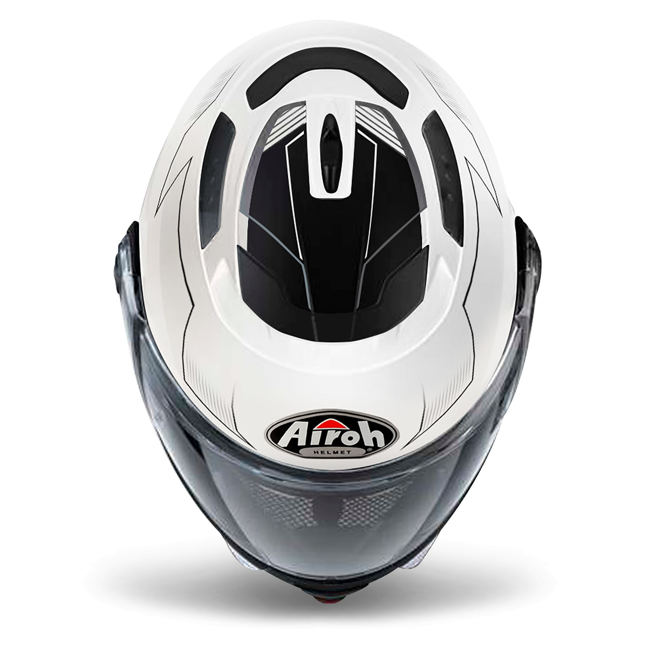 Casque Airoh PHANTOM S - SPIRIT - WHITE GLOSS