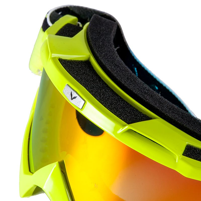 Masque cross Prov VISION BIKKI YELLOW FLUO IRIDIUM 2018