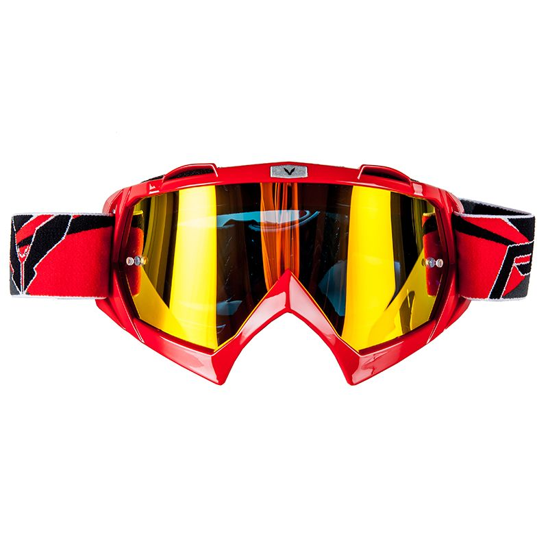 Masque cross Prov VISION RED IRIDIUM 2018