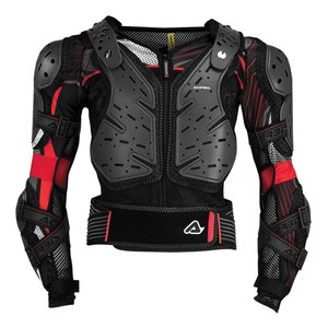 Gilet KOERTA 2.0 BLACK RED 2020 Noir