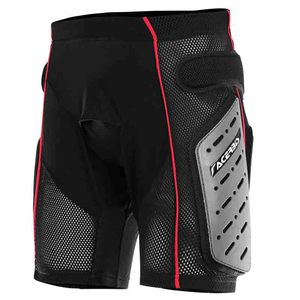Short FREE MOTO 2.0 BLACK RED  Noir