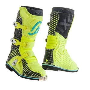 Bottes Cross Acerbis Shark Junior - Noir/jaune Fluo - 2019