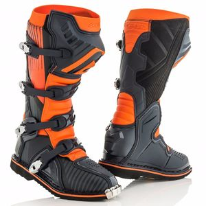 Bottes Cross Acerbis X-pro V - Noir Orange - 2019