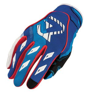Gants Cross Acerbis Mx1 - Bleu / Rouge - 2019