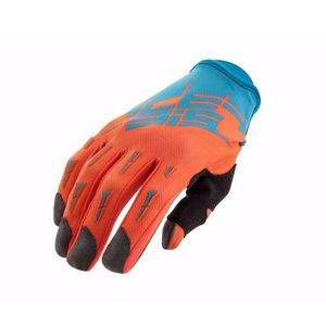 Gants Cross Acerbis Mx X2 - Bleu Orange Fluo - 2019