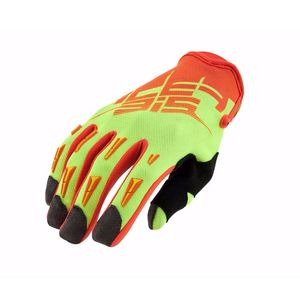 Gants Cross Acerbis Mx X2 - Jaune Fluo Orange Fluo - 2019