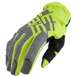 Gants Cross Acerbis Mx X2 - Gris Jaune Fluo - 2019