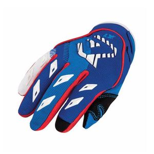 Gants cross MX KID - BLEU / ROUGE -   Bleu/Rouge
