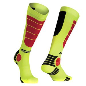 Chaussettes MX IMPACT FLUO YELLOW RED  Jaune/Rouge