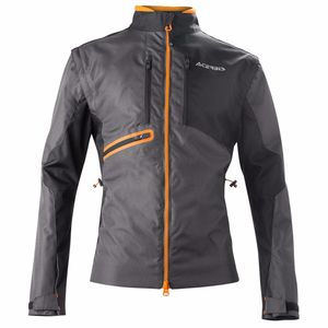 Veste enduro ENDURO ONE - NOIR ORANGE FLUO - 2019 Noir/Orange