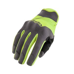 Gants cross ENDURO ONE - JAUNE FLUO / NOIR - 2019 Jaune/Noir