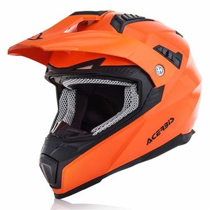 Casque Cross Acerbis Flip Fs-606 - Orange Fluo - 2019