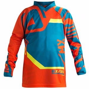 Maillot cross FITCROSS KID - EDITION LIMITEE -   Bleu/Orange
