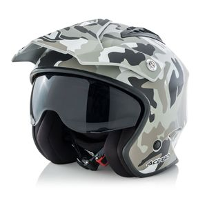 Casque JET ARIA CAMOUFLAGE  Camouflage
