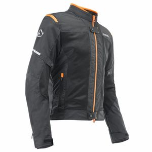 Blouson RAMSEY MY VENTED 2.0  Noir/Orange