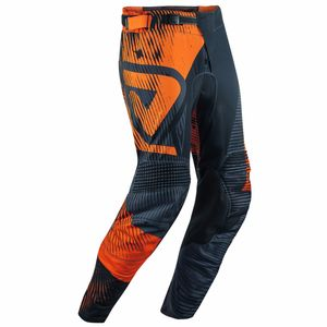 Pantalon cross MUDCORE SPECIAL EDITION - ORANGE FLUO NOIR -  2018 Orange/Noir