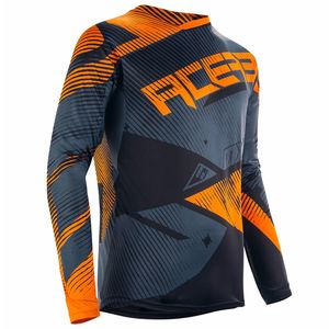 Maillot cross MUDCORE SPECIAL EDITION - ORANGE FLUO NOIR -  2018 Orange/Noir