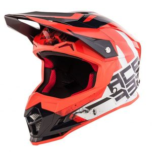 Casque Cross Acerbis Profile 4 -noir/rouge - 2019