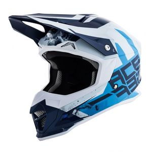 Casque Cross Acerbis Profile 4 -bleu/blanc - 2019