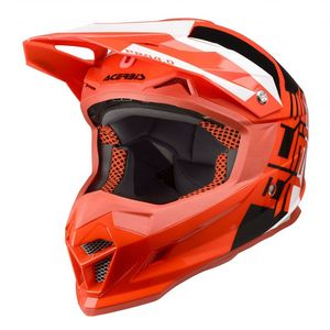 Casque Cross Acerbis Profile 4 - Rouge Noir Blanc - 2019