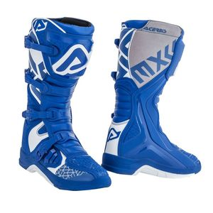 Bottes cross X-TEAM BLUE WHITE 2021 Bleu/Blanc