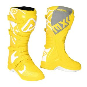 Bottes Cross Acerbis X-team - Jaune/gris - 2019
