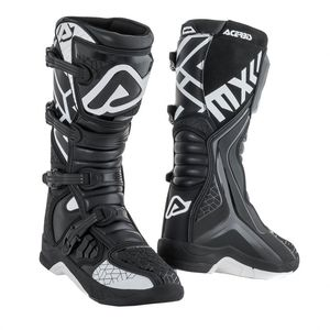 Bottes cross X-TEAM BLACK WHITE 2021 Noir/Blanc