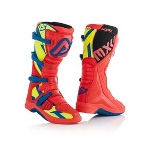 Bottes Cross Acerbis X-team - Rouge/jaune - 2019