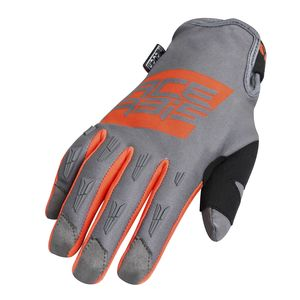 Gants cross MX WP - ORANGE/GRIS- 2019 Orange/Gris