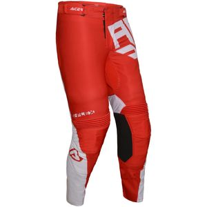 Pantalon Cross Acerbis X-flex Vega- Rouge/blanc- 2019