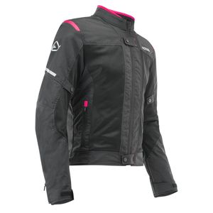 Blouson RAMSEY MY VENTED 2.0  LADY  Noir/Rose