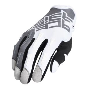 Gants cross MX X-H - GRIS/BLANC - 2019 Gris/Blanc