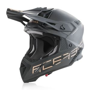 Casque Cross Acerbis X-racer Vtr Gris/or 2019
