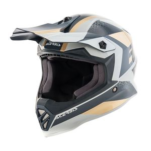 Casque Cross Acerbis Steel -or/gris- Enfant- 2019