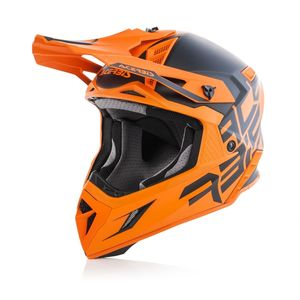 Casque Cross Acerbis X-pro Vtr Noir/orange 2019