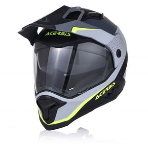 Casque Cross Acerbis Reactive Graffix - Noir/gris - 2019