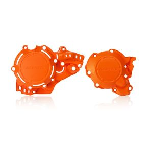 Protection X-POWER POUR MOTEUR  Orange