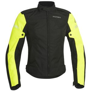 Veste enduro CE DISCOVERY GHIBLY LADY 2020 Noir/Jaune fluo
