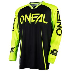 Maillot Cross O'neal Mayhem Blocker - Noir Jaune Fluo - 2018