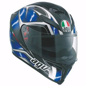 Casque K-5 S - HURRICANE - 2017  Black/Blue