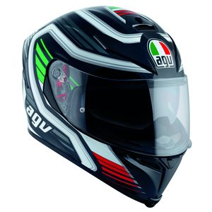 Casque K-5 S - FIRERACE  Black/white