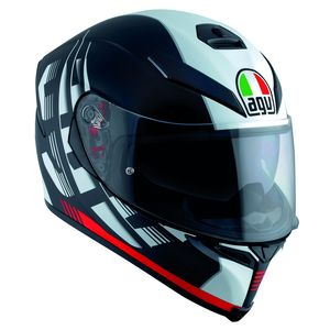 Casque K-5 S - DARKSTORM  Black/Red