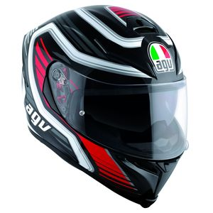Casque K-5 S - FIRERACE  Black/Red