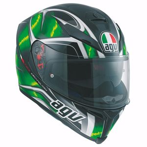 Casque K-5 S - HURRICANE - 2017  Black/Green