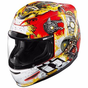 Casque AIRMADA - MONKEY BUSINESS  Rouge