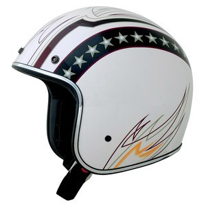 Casque FX76 LINE GRAPHIC  Blanc