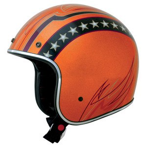 Casque FX76 LINE GRAPHIC  Orange