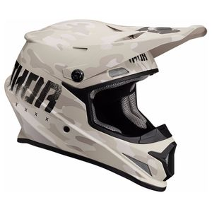 Casque cross SECTOR - COVERT - SAND MAT - 2019 Sable